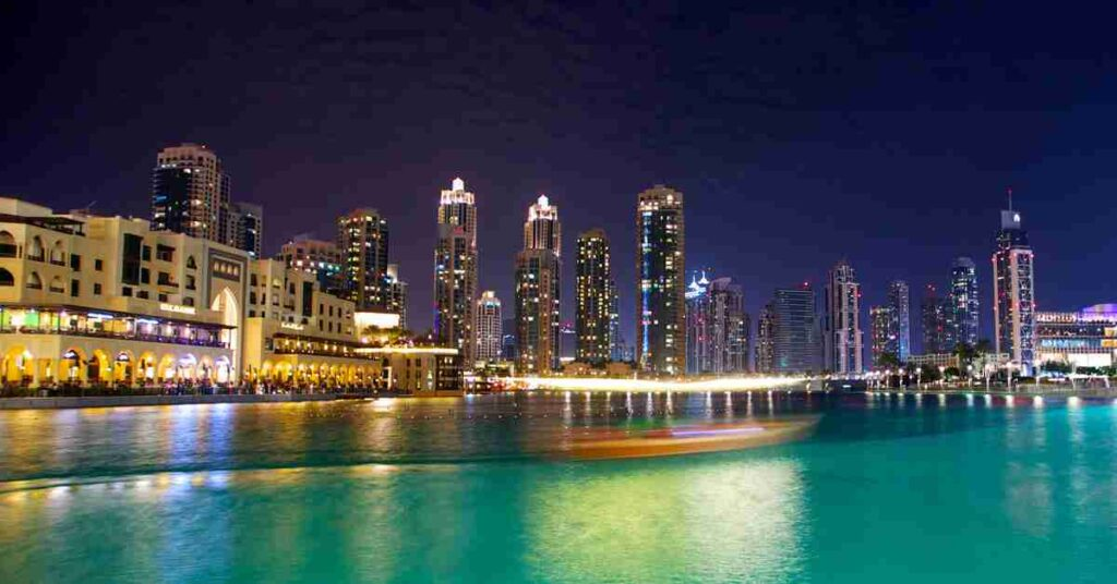 Dubai Waterfront now